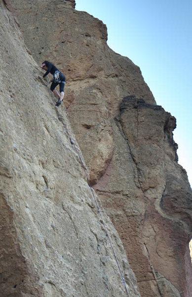climbing at Smith