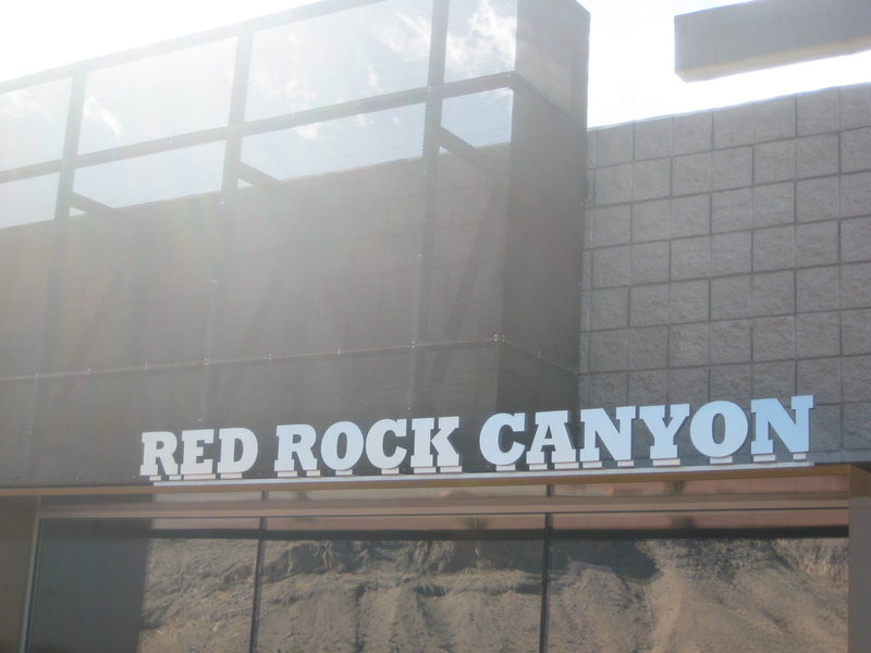Entrance to Red Rocks Canyon