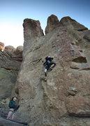 Rock Climbing Photo: climbing at Smith