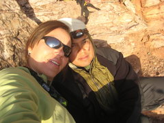 Rock Climbing Photo: Me & Ram killing time while we waited...and waited...