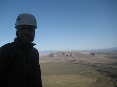Rock Climbing Photo: The Summit!  Nate at the finish of Group Therapy! ...