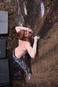 Rock Climbing Photo: continuum Hypothesis' on the FA