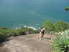 Rock Climbing Photo: The best part.