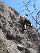 Rock Climbing Photo: solo