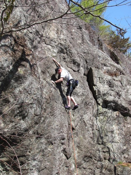 Rock Climbing Photo: a nice spring day