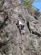 Rock Climbing Photo: a nice spring day