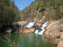 Rock Climbing Photo: Oceana Falls, Talluah Gorge.