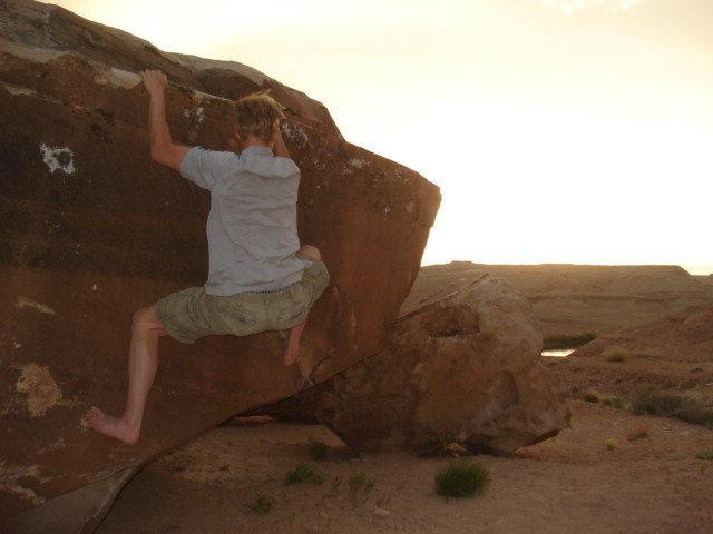 Rock Climbing Photo: crystal geyser, ut