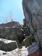 Rock Climbing Photo: cryptic's chimney