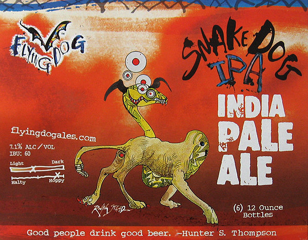 Try the Snake Dog IPA.<br> Photo by Blitzo.