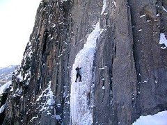 Rock Climbing Photo: Ames Ice Hose Telluride, Ophir Loop, CO area.