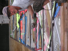 Rock Climbing Photo: cuttin the pannels