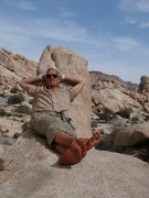 Rock Climbing Photo: Chillin by one of Hidden Valley Campground's most ...