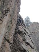 Rock Climbing Photo: Brr.