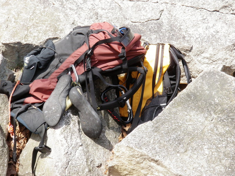 Rock Climbing Photo: Massive carabiners
