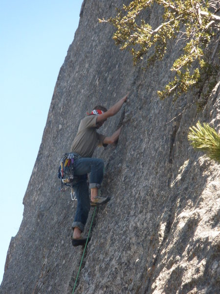 "Rock Climbing Photo: Jamming the perfect fun splitter on ""Handy&qu..."
