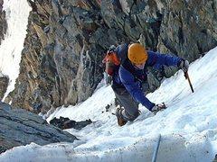Rock Climbing Photo: Couloir