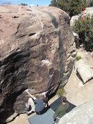 Rock Climbing Photo: Lemon Boulder-Triassic