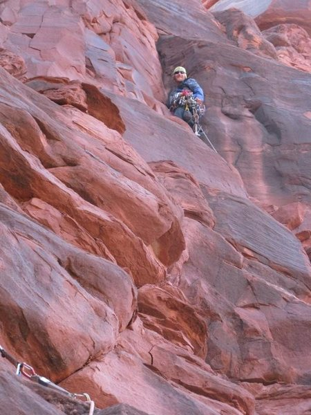 Rock Climbing Photo: fun in the desert.
