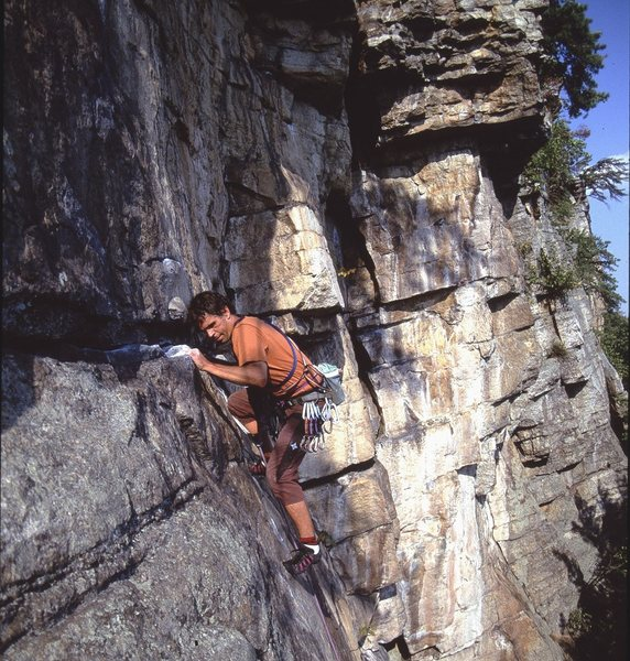A Trip to the Gunks-  Oct. 2001<br> Rock on &quot;Classic&quot;