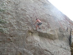 """Rock Climbing Photo: Dave whippin off of """"Twinkie"""""""