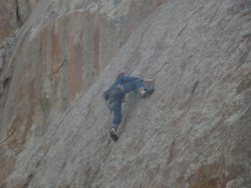 "Rock Climbing Photo: Me on ""Twinkie'"