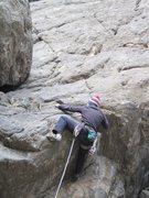 Rock Climbing Photo: Dan Knights on 5th of July.