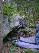 Rock Climbing Photo: Dave Dobson
