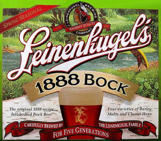 Try Lienenkugel's 1880 Bock.