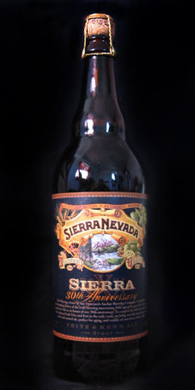 Rock Climbing Photo: Try Sierra Nevada 30th Anniversary Stout. 10% ABV....
