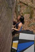 Rock Climbing Photo: Katie on Tall Boy