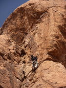 Rock Climbing Photo: Top section is no Illusion. 5.11.