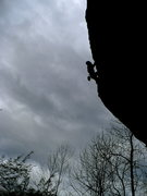Rock Climbing Photo: Mike on Seek the Truth, RRG, KY