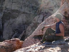 Rock Climbing Photo: I was tired, too...