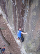 Rock Climbing Photo: Vinny.