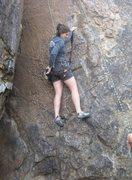 Rock Climbing Photo: Bouldery start. Super easy afterwards