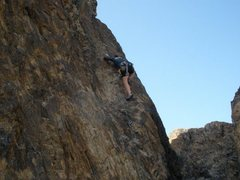 Rock Climbing Photo: Fun route, really enjoyed the rock in NEW JACK CIT...