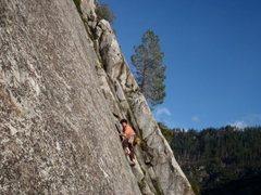 Rock Climbing Photo: Josh Mucciman on the Unchaste
