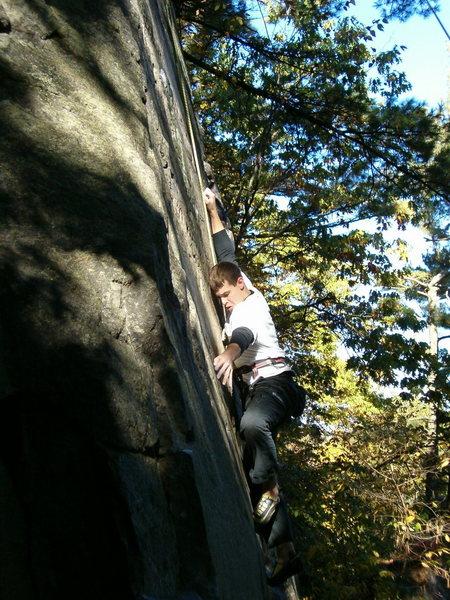 Me running up breadboard 9/10/2004