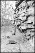 Rock Climbing Photo: mike housiaux dyno