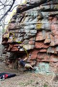 Rock Climbing Photo: Jade Hillestad on Herbs Hump