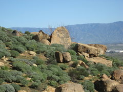 Rock Climbing Photo: This boulder can be seen from Trail side boulder 1...