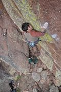 Rock Climbing Photo: Brad Gobright getting his RP two days later!