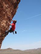 Rock Climbing Photo: Eric about to finish up Wonderstuff