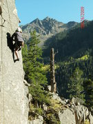 Rock Climbing Photo: September at Ophir Wall