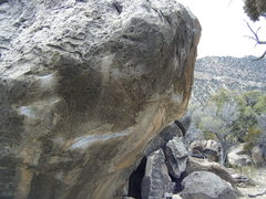 Rock Climbing Photo: Sun in My Eye Traverse moves out right from the ob...