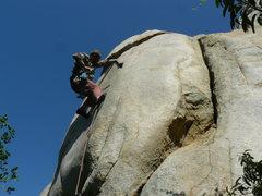 Rock Climbing Photo: Tucker Tech on The Shoulder.