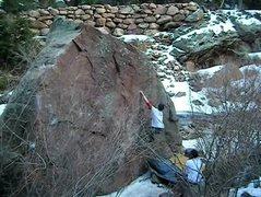 Rock Climbing Photo: Gettin' ready to blast.