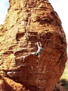 Rock Climbing Photo: Casey on Lambada