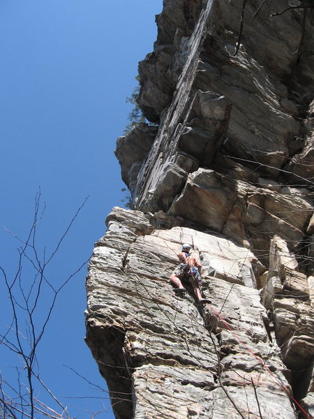 Rock Climbing Photo: Wailing Wall start